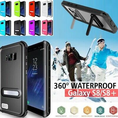 AU8.90 • Buy 360° Waterproof Shock/Snow Proof Case IP68 Cover For Samsung Galaxy S8 S9+ Note9