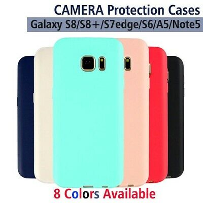 AU4.45 • Buy NEW Soft TPU Matt Liquid Case Slim Cover For Samsung Galaxy Note 8/S8+/S7/S6/A5