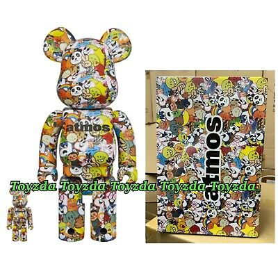 $269.99 • Buy Medicom Atmos EMOJI 400% + 100% Bearbrick Be@rbrick