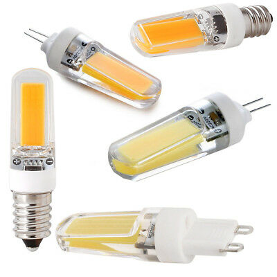 AU3.08 • Buy Dimmable G4 G9 E12 E14 3W Crystal LED Corn Bulb COB Light Replace Halogen Lamp