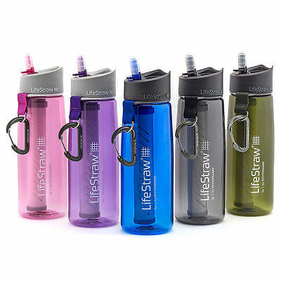 AU81.86 • Buy LifeStraw Go Personal Water Filter Bottle Purifier 2 Stage Filtration Free Ship