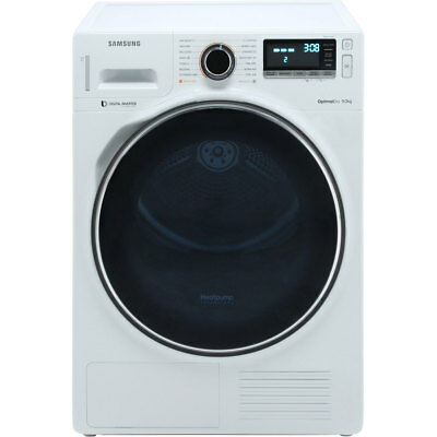 View Details Samsung DV90M8204AW A+++ Heat Pump Tumble Dryer Condenser 9 Kg White • 799.00£