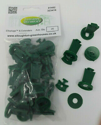 Greenhouse Support Clips & Extenders For Shade Netting & Bubble Wrap Insulation  • 5.95£