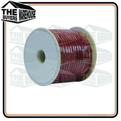 AU38 • Buy Wire 6mm Trade Single Core Automotive Wiring Cable 20m Red Spool