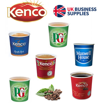 £6.49 • Buy 375's X Kenco Incup Drinks 76mm 15 X 25's,Cadbury,Bovril,Pure Gold,Cappuccino