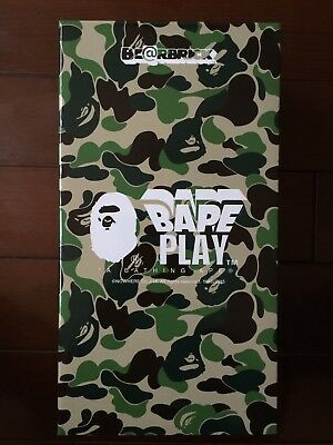 $800 • Buy Medicom Bearbrick Be@rbrick 2015 Bape Play Shark Black 400% Limited Japan NEW