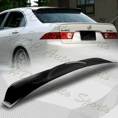 $45.88 • Buy For 2004-2008 Acura TSX Black ABS Plastic Rear Window Roof Visor Spoiler Wing