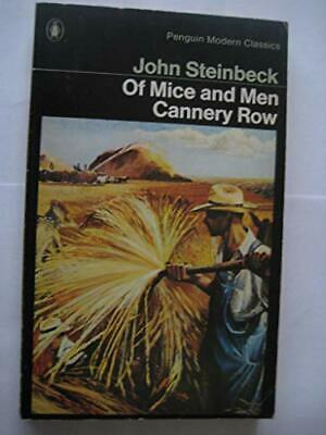 Of Mice And Men And Cannery Row (Penguin Modern Classics) By Steinbeck, John The • 8.25£