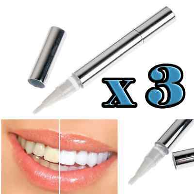 AU14.99 • Buy 3 Pack Professional Teeth Whitening Pen Touch Up Bleaching Bright Smile Kit