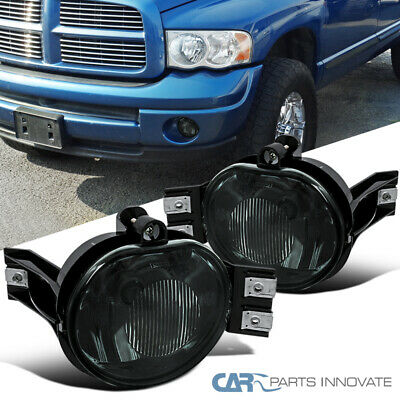$36.81 • Buy For 02-08 Dodge Ram 1500 2500 3500 04-06 Dodge Durango Smoke Fog Lights+Switch
