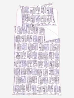 Official Dr Doctor Who Multi Tardis White Single Bedding Bed Duvet Cover Set   • 9.95£