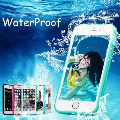 AU12.90 • Buy Hybrid Waterproof Dust/Dirt Proof Case Cover For IPhone XS Max XR 8 7 Plus 6 5S