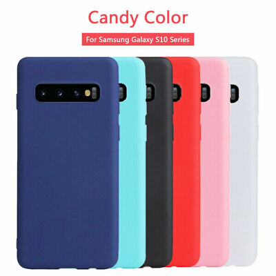 AU4.49 • Buy Ultra Thin Skin Slim Matte Case Cover For Samsung Galaxy S8 + S9 S7 S6 A5 S10+