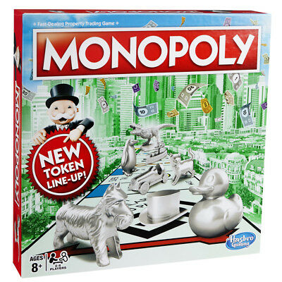 £19.95 • Buy Monopoly Classic New Token Line Up - BRAND NEW