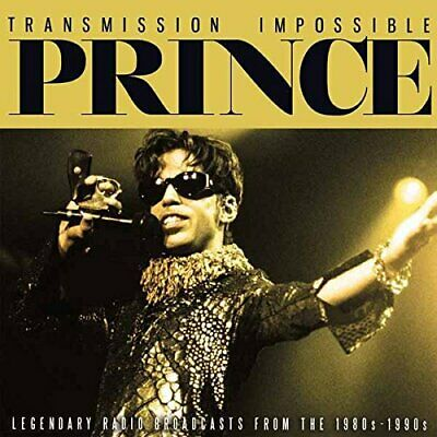 Prince : Transmission Impossible CD Box Set 3 Discs (2017) ***NEW*** Great Value • 16.29£