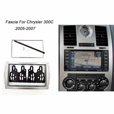 $22.79 • Buy 2 Din Radio Stereo Fascia Panel Mount Kit Face Plate For CHRYSLER 300C 2005-2007