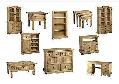 £167.59 • Buy Seconique Corona Downstairs Furniture - Solid Mexican Pine - Full Collection