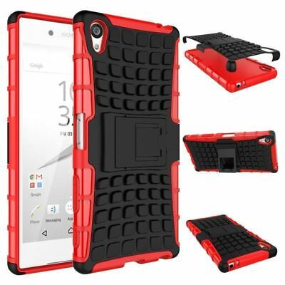 AU8.03 • Buy Heavy Duty Shock Proof Stand Case Cover Military Builder Sony Xperia XZ Premium