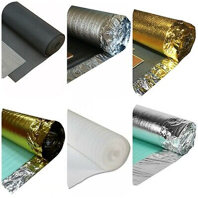 Laminate / Wood Flooring Underlay - Gold - Acoustic - Silver - FibreBoard - XPS • 9.99£