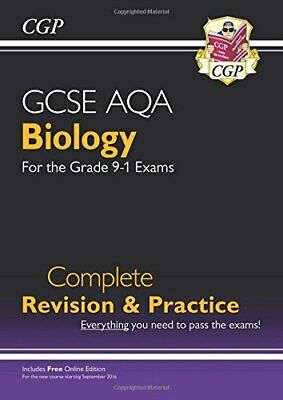 £5.99 • Buy Grade 9-1 GCSE Biology AQA Complete Revision & Practice With Onl... By CGP Books
