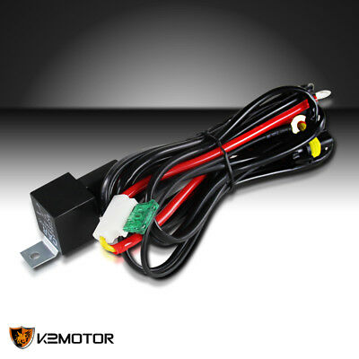 $6.38 • Buy HID Xenon Conversion Wiring Relay Harness Fuse H1 H11 9005 9006 Kit