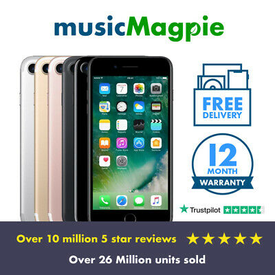 View Details Apple IPhone 7 32GB 128GB 256GB Unlocked All Colours Refurbished 4G Smartphone  • 159.99£
