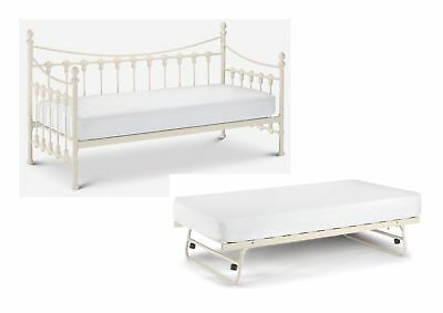£251.95 • Buy Julian Bowen Versailles 3ft Single Day Bed & Optional Trundle - Stone White