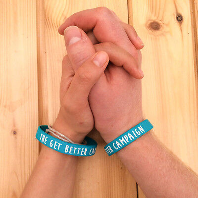 £1.99 • Buy Cancer Research UK Charity Wristband - The Get Better Campaign
