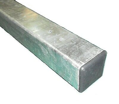 Metal Post 50x50x1400mm Hot Dip Galvanised For Garden Gates Fence Fencing • 13.80£