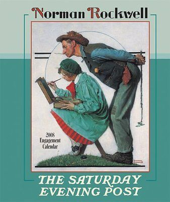 $ CDN6.35 • Buy Norman Rockwell The Saturday Evening Post 2008 Cal