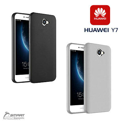AU4.99 • Buy Matte Gel Soft TPU Gel Jelly Rubber Case Cover For Huawei Y7