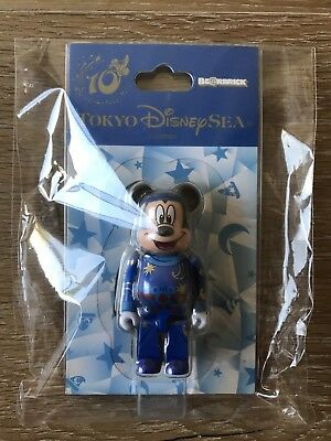 $100 • Buy Medicom Bearbrick 2011 Tokyo Disney Sea 10th Anniversary Ltd 100% Mickey Mouse