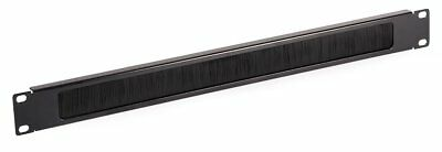 19  Chargeline Steel Brush Strip Panel 1U Rack Mounting For Patch Lead Cabinet  • 7.29£