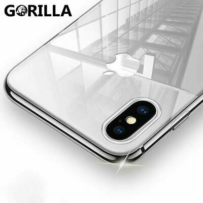 AU4.76 • Buy IPhone 12 11 Pro Max XS 8 SE Case Ultra Crystal Clear Soft Thin COVER For Apple