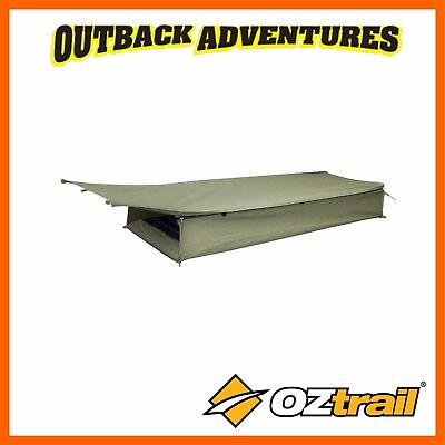 AU119.95 • Buy Oztrail Swag Cooper Expedition Single Green Canvas Dome New Model Swags