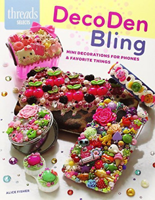 Alice Fisher-Decoden Bling  BOOK NEW • 6.99£