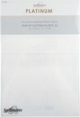 AU37.65 • Buy Spellbinders Extra Large XL Cutting Plates 2 Pack For Platinum Cutting Machines