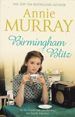 Birmingham Blitz By Annie Murray, Paperback, New Book (b Format) • 4.95£