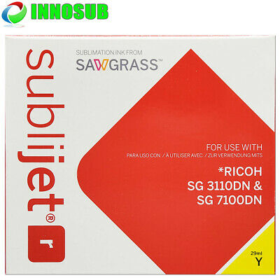 £65.19 • Buy Sawgrass Sublijet-r Ricoh Sg 3110dn /sg7100dn Cartridge -yellow-sublimation-