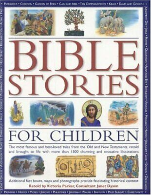£3.41 • Buy Bible Stories For Children: The Most Famous And ... By Parker, Victoria Hardback