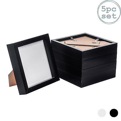 Box Picture Frame Deep 3D Photo Display 6x6 Inch Standing Hanging Black X5 • 17.99£
