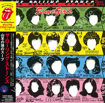 ROLLING STONES SOME GIRLS CD MINI LP OBI Mick Jagger Keith Richards Album New • 9.46£