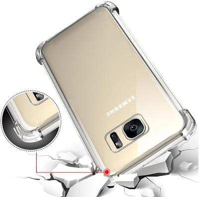 $ CDN7.57 • Buy For Samsung Galaxy S7 Edge Case 360 Silicone Shockproof Clear Heavy Duty Cover