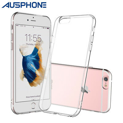 AU2.99 • Buy NEW IPhone 7 / 8 Plus Case For Apple Crystal Clear Ultra Slim Soft Gel Cover OZ