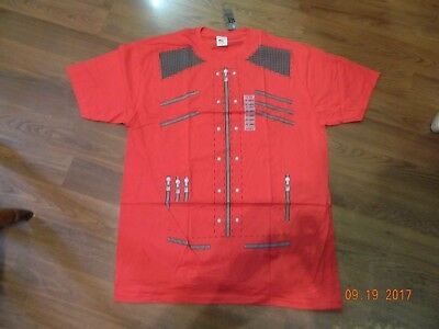 NWT- Michael Jackson Beat It Video Jacket Style Tee Shirt From Hot Topic (2XL) • 13.10£