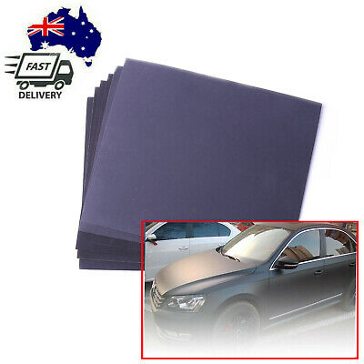 AU6.28 • Buy 5Pairs/10Pc Wet And Dry Sandpaper Sheets 280 400 1000 1500 2000 Grit Waterproof