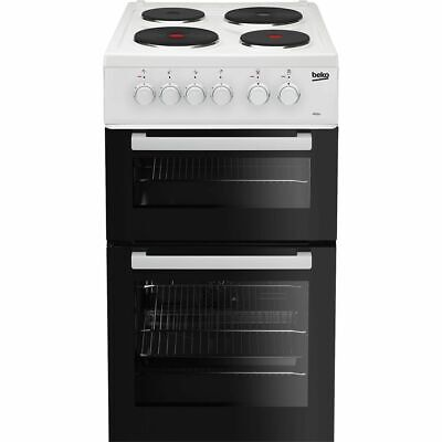£229 • Buy Beko AD531AW Free Standing A Electric Cooker With Solid Plate Hob 50cm White