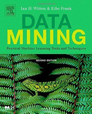 $4.49 • Buy Data Mining: Practical Machine Learning Tools And