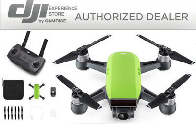 AU511.57 • Buy DJI Spark Drone Quadcopter Green And DJI Remote Controller