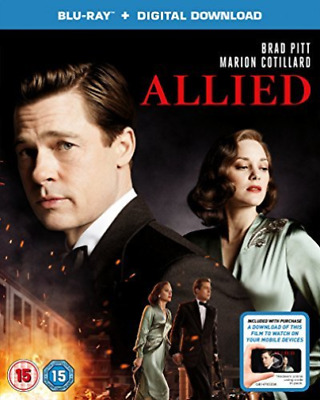 AU14.43 • Buy Allied (bd+itunes)  Dvd New